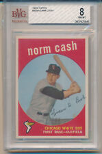 1959 Topps Norm Cash (High Number Series) (Rookie Card) (#509) BVG8 BVG