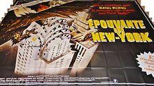 EPOUVANTE SUR NEW-YORK  ! affiche cinema geante 4x3m