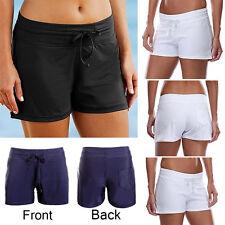 2017 Women Shorts Plain Bikini Swim Swimwear Ladies Boy Style Short Brief Bottom