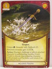 A Game of Thrones 2.0 LCG - 1x #030 Lion's Tooth - House of Thorns