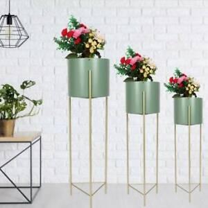 Metall Pflanzenständer Blumenständer Blumenregal Garten Regal S,M,L Auswahl Top