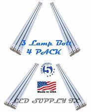*4 PACK* 4' foot 8880Lumens 66 Watt LED Shoplight Work Garage Light Fixture NEW!