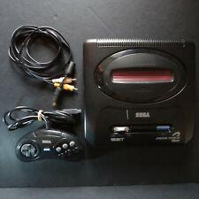 SEGA Mega Drive 2 Console NTSC JAPAN・❀・6 BUTTON FIGHTING PAD incl. UK 240v PSU