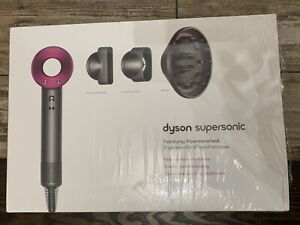 Dyson Supersonic Hair Dryer in Purple Nickel w/ Attachments NIB