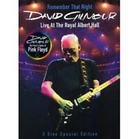DAVID GILMOUR - REMEMBER THAT NIGHT: LIVE AT THE ROYAL ALBERT HALL 2DVD POP NEU