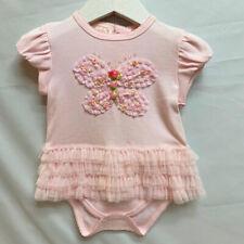 NWT Baby Biscotti Sweet Pink Komomo Style Jumpsuit 3 or 6 Months  Reborn Dolls