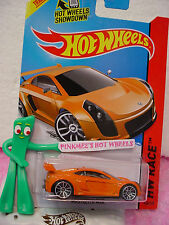 Case M/N 2014 i Hot Wheels MASTRETTA MXR #160 ❀Orange; j5❀HW Race❀Thrill Racers
