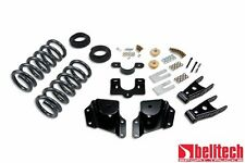 Belltech 99-06 Silverado Ext Cab 2/4 Drop Lowering Kit 670