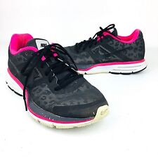Nike Womens Air Zoom Shoes Pegasus 30 Repel Black Running Cheetah Pink Sneakers