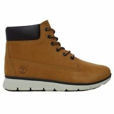 Chaussures beige Timberland à lacets pour garçon de 2 à 16 ans