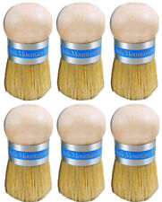 Chalk Furniture Wax Palm 6 Brushes Waxing or Painting Upholstery Pouncer