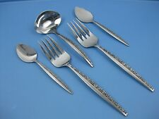 Coventry Stainless Japan BOUQUET Serving Lot Ladle Jelly Server Cold Meat Fork