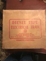 Vintage Marx 7674 Union Pacific Diesel Type Electric Train Set Original Box