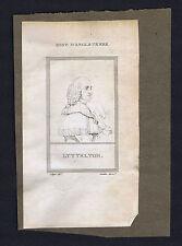 George Lyttelton, 1st Baron &  de Lapérouse French Explorer-1805 Copper Prints