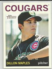 Dillon Maples Chicago Cubs 2013 Topps Heritage Minor League