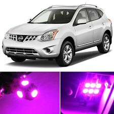 9 x Premium Hot Pink LED Lights Interior Package Kit for Nissan Rogue