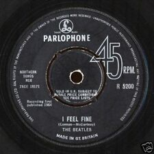"7"" - The Beatles - I Feel Fine /  She's A Woman (UK ORIGINAL PRESSING 1964) VG+"