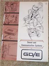 General Dynamics/Electronics Amplifier Phone Brochure