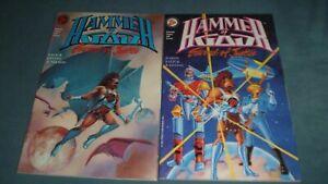 Hammer of God, Sword of Justice, book 1 and 2, Complete Set - Nexus! -Steve Rude