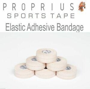EAB Elastic Adhesive Bandage,6x25mm 4.5m Sports,Rugby,Thumb,Vet,Strapping Tape