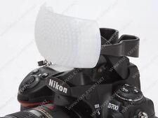 DIFFUSORE X FLASH UNIVERSALE 3 COLORI FOTOCAMERANIKON D7000 D90 D80 D600 D300