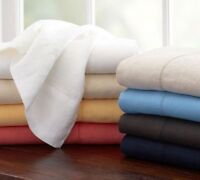 1000 Thread Count Egyptian Cotton US Bedding Items Twin Size All Solid Colors