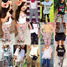 Toddler Baby Kids Girl Summer T-Shirt Tee Tops + Pants Shorts Clothes Outfit Set