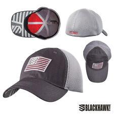 Blackhawk Foam Meshback Fitted Cap (L/XL)- Slate/Steel
