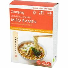 Clearspring  Japanese Miso Ramen Noodles & Miso Ginger Soup - 170g - 78876