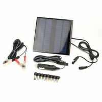 NEW 2W 18V Solar Panel Trickle Laptop PC Car Bait Boat Caravan Battery Charger