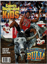 1993 Sports Illustrated For Kids Vol 5,#5, Bulls' Pippen, 9 Inserts, Gretzky...