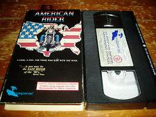 American Rider VHS-UNCUT VERSION Monterey Video