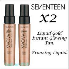 BOOTS Seventeen 17 Skin WOW Tan Liquid Glow 30ml