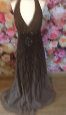 Vintage Look Beaded Prom Gown Floaty Dress Bridesmaid 20