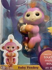 WowWee Fingerlings Interactive Baby Monkey, Summer, Pink, New Wearable Pets