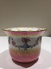 Antique English Porcelain Pink Cachepot, Mintons, Circa 1880