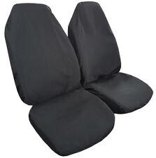 Black Slip On Style Car Seat Cover Mitsubishi Ralliart One Pair Free Shipping AU