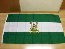 Fahnen Flagge Spanien Andalusien - 90 x 150 cm