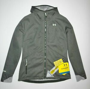 NWT Under Armour Womens Bacca Hooded Fleece Soft Shell Water Resistant  S AT140
