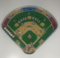 Schylling Baseball Diamond Pinball Game, Marble Tabletop Handheld Play Ball!