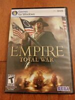 EMPIRE TOTAL WAR – PC GAME FOR WINDOWS BY SEGA