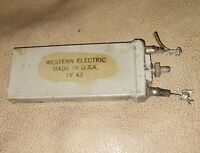 WESTERN ELECTRIC - 0.02 MFD // CONDENSER CAPACITOR tube amplifier