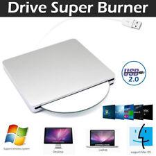 Unidad DVD externa USB DVD CD RW grabadora portátil reproductor óptico escritor