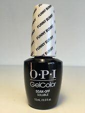OPI Gel Color Soak off GCH22 FUNNY BUNNY Full Size 0.5 oz/15 ml