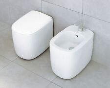 FLAMINIA SANITARI SERIE MONO' WC ART MN 117+ BIEDTART MN 217 MADE IN ITALY