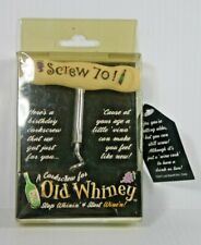 Laid Back Old Whiney Cork Screw, 70 and Still Screwin Cork Screw Gift