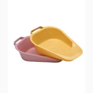 Medegen Gold Plastic Disposable Fracture Bedpan 1.1 Quart 13 L X 9.25 W