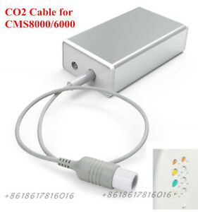 Capnography etCO2 module w CO2 Pipe for New 5-Pin CONTEC CMS8000 Patient Monitor