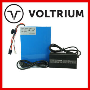 New 60v 20Ah NMC Li-ion Lithium Battery Pack + Smart Charger 2 Year warranty