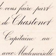 Jacques Antoine De Chastenet De Puységur 1893 Alexandrine Donjon De Saint-Martin
